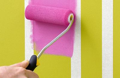 """Video: Tự sơn tường sọc vằn """"dễ như bỡn"""" - 2"""