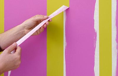 """Video: Tự sơn tường sọc vằn """"dễ như bỡn"""" - 3"""