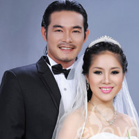 Quách Ngọc Ngoan - Lê Phương giản dị trong ảnh cưới
