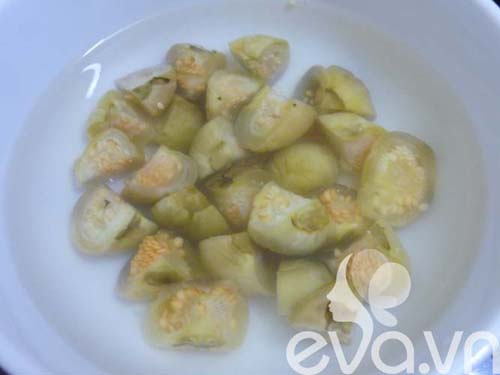 Ngon cơm với cà dầm tôm chua Huế - 2