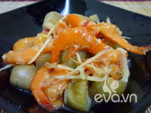 Ngon cơm với cà dầm tôm chua Huế - 6