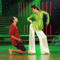 """""""Cô Thắm"""" Vân Trang khiến khán giả thích thú"""