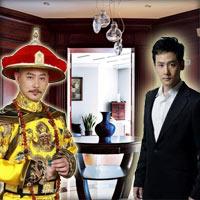 Nhà chàng đẹp trai đóng vai vua Càn Long