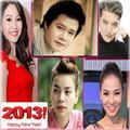 Làng sao - Sao Việt chúc năm mới 2013 tới độc giả Eva