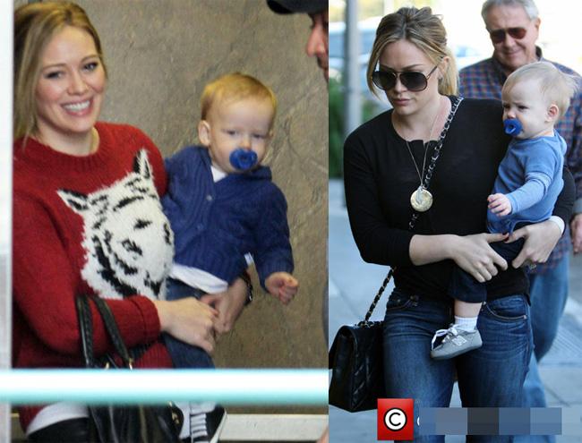 1. Các bé vừa chào đời được yêu thích nhất Bé Luca Cruise Comrie - con trai hai tuần tuổi của cựu ngôi sao Disney, Hilary Duff và người chồng Mike Comrie - kháu khỉnh, đáng yêu với đôi mắt to tròn.