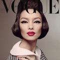 Thời trang - Siêu mẫu Châu Á bất ngờ 'mở hàng' cho Vogue Ý