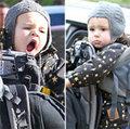 Làng sao - Nhóc Flynn bụi bặm đi chơi cùng bố