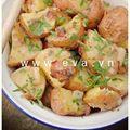 Bếp Eva - Độc đáo salad khoai tây nóng