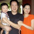Làng sao - Lộ ảnh con trai của Huy MC với vợ mới