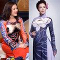Thời trang - Một Lý Nhã Kỳ đẹp lạ với áo dài