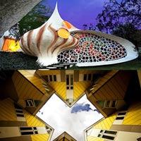 Những tòa nhà hình dáng kỳ lạ nhất địa cầu