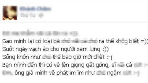 """bao dong: hoc sinh hn chui tuc la """"binh thuong"""" - 1"""