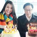 Làng sao - Trà Ngọc Hằng vui sinh nhật ở Hàn Quốc