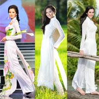 10 mỹ nhân mặc áo dài đẹp nhất showbiz