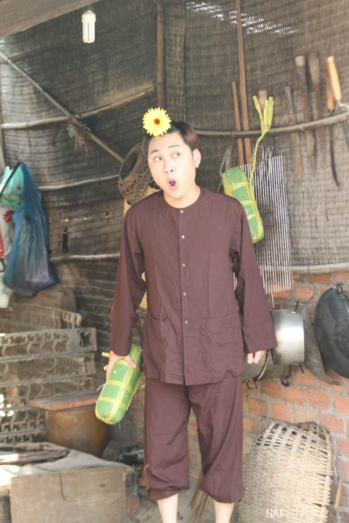 Học trò Thúy Vinh háo hức làm MV Tết-10