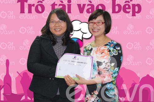 le trao giai cuoc thi tro tai vao bep 2012 - 1