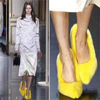 Celine tung mẫu giày lông xấu xí