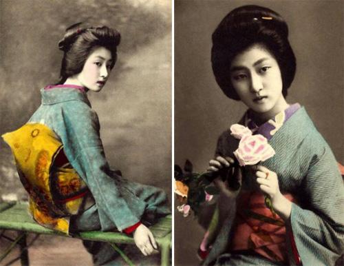 Ngỡ ngàng trước vẻ sắc sảo của nàng geisha cổ-2