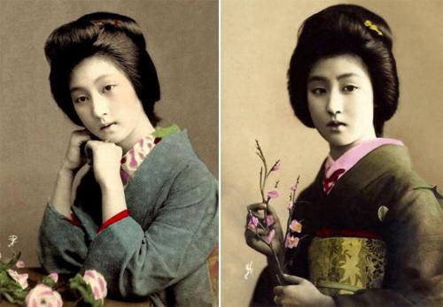 Ngỡ ngàng trước vẻ sắc sảo của nàng geisha cổ-3