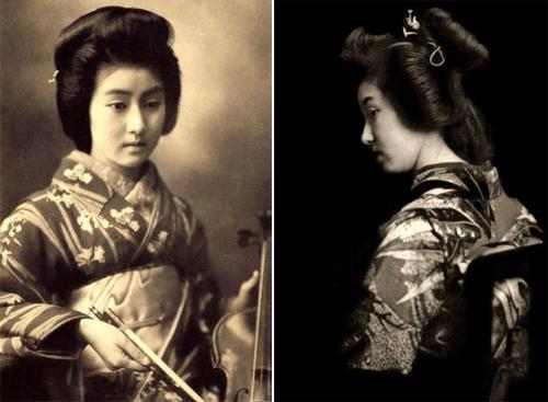 Ngỡ ngàng trước vẻ sắc sảo của nàng geisha cổ-5