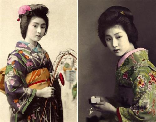 Ngỡ ngàng trước vẻ sắc sảo của nàng geisha cổ-6