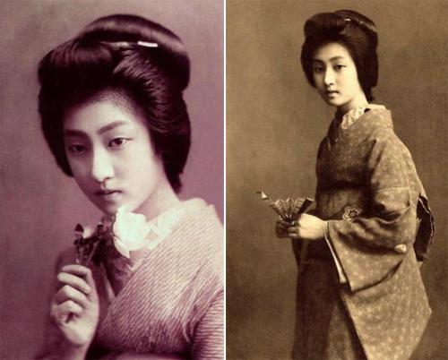 Ngỡ ngàng trước vẻ sắc sảo của nàng geisha cổ-7