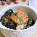 Bếp Eva - Tôm rim nấm ngọt thơm bất ngờ