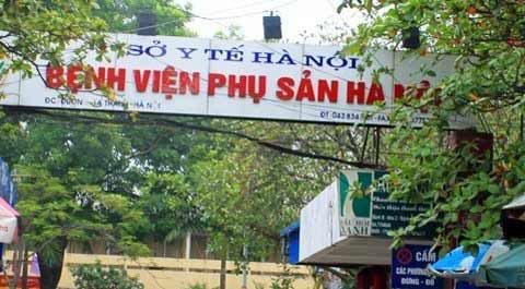 hn: lai them tre so sinh tu vong o bv phu san - 1