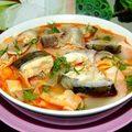 Bếp Eva - Thịt đắt thì ăn đầu cá hồi