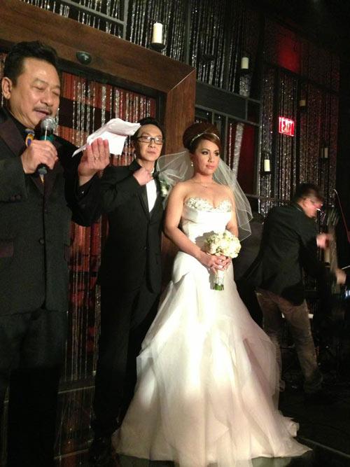 Lộ ảnh đầu tiên trong đám cưới Minh Tuyết-1
