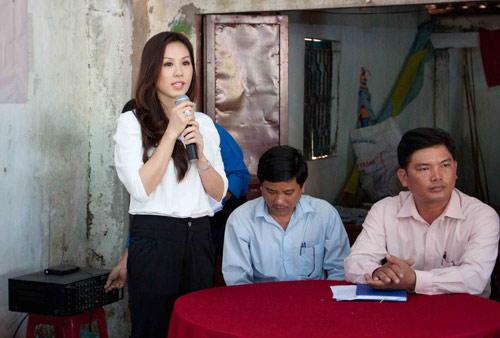 """hh thu hoai lay tu thien """"dap"""" scandal - 6"""