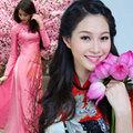 Làm đẹp - Hoa hậu Thu Thảo tràn trề sắc xuân