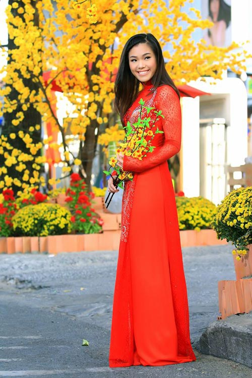 phuong vy dao pho tet cung 'my nam' - 6