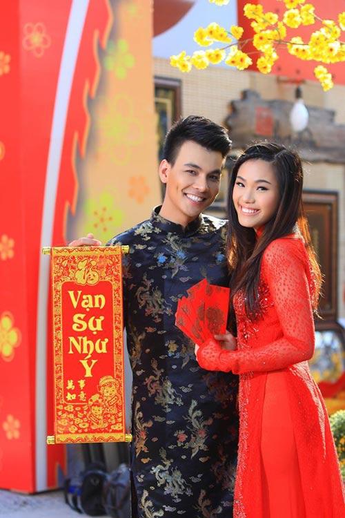 phuong vy dao pho tet cung 'my nam' - 4