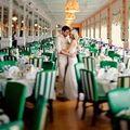 Thời trang - Phong cách xanh lục bảo tuyệt vời cho ngày cưới