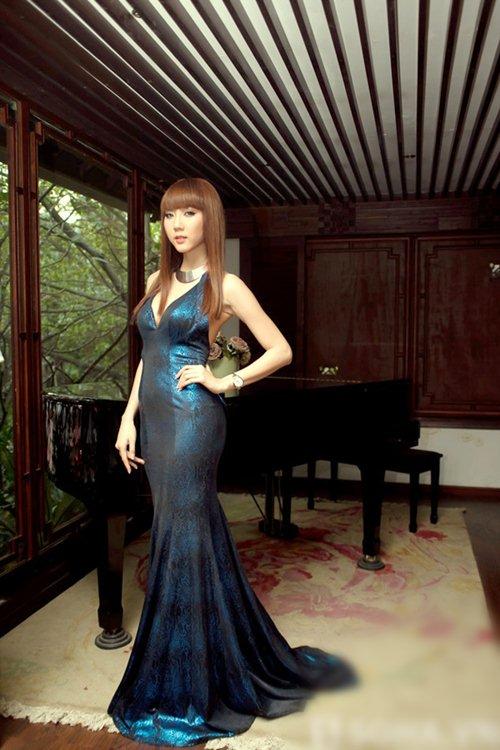 kieu hanh cung sac xanh co vit 2013! - 15