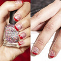 Làm đẹp - Kiểu nail đẹp mùa xuân cho móng tay ngắn