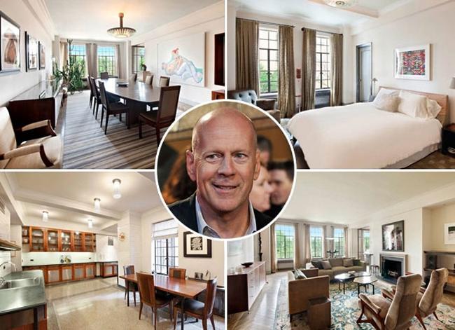 Bruce Willis mới quyết định sắm cho gia đình mình hẳn một căn hộ sang trọng giá tới gần 8,7 triệu USD (khoảng 183 tỷ VNĐ).