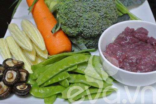 Tươi ngon với thịt bò xào rau củ - 1