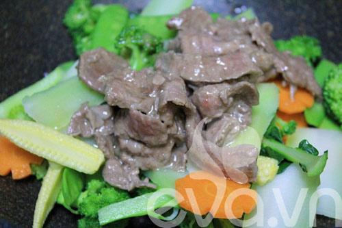 Tươi ngon với thịt bò xào rau củ - 6