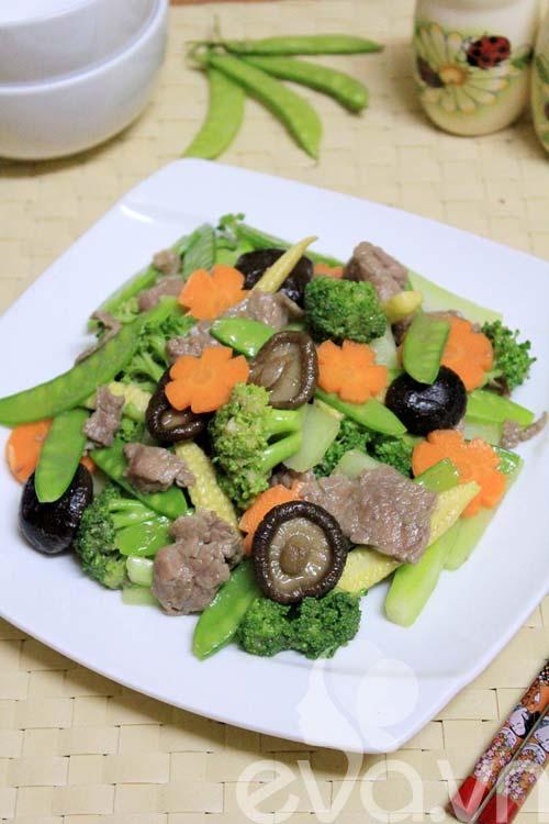 Tươi ngon với thịt bò xào rau củ - 7
