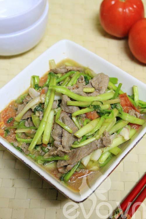 Thit+Bo+Rim Thit Bo Xao Rau Can | Ngon cơm với món Thịt Bò Xào ...