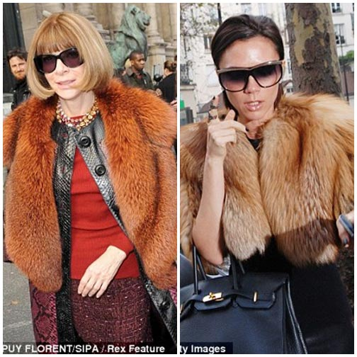 Victoria Beckham 'đạo' phong cách Anna Wintour?