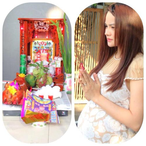 vu thu phuong co bau van cham chi lam viec - 4