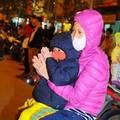 Trẻ 'vạ vật' tham gia lễ cầu an