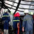 Nổ lớn làm sập 5 căn nhà vùi lấp nhiều người