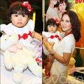 Làng sao - Con gái Trần Thị Quỳnh xinh y hệt mẹ