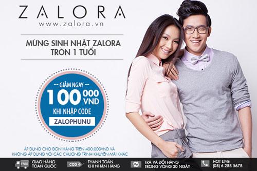 Ưu đãi 50 cho các thương hiệu độc quyền tại ZALORA.VN -| Thoi trang