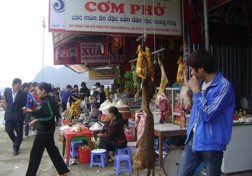 thit thu rung tai chua huong la... hang dom - 1