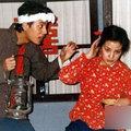 Làng sao - Triệu Vy, Huỳnh Hiểu Minh và sự cố thời sinh viên